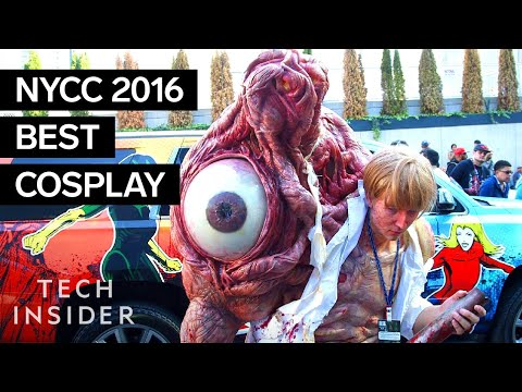 The best cosplay of the 2016 New York Comic Con