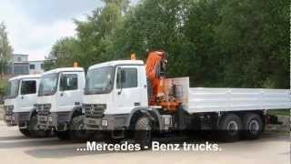 Genuine spare parts for trucks, construction machines, cranes, trailers, agricultural equipment.