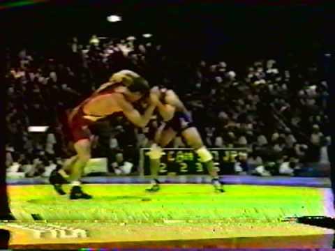 1996 Olympic Games: 62 kg Marty Calder (CAN) vs. Takahiro Wada (JPN)