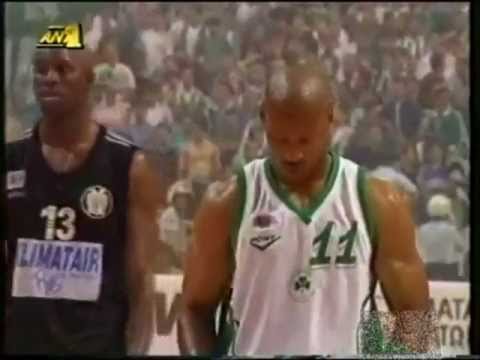 Byron Scott ♣ Panathinaikos - PAOK 68-58 Champion final 1998