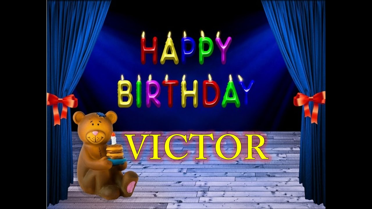 Feliz cumpleanos victor andres