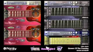 Prominy V-METAL & Hummingbird & SR5 Rock Bass demo - Queen Of The Prominy