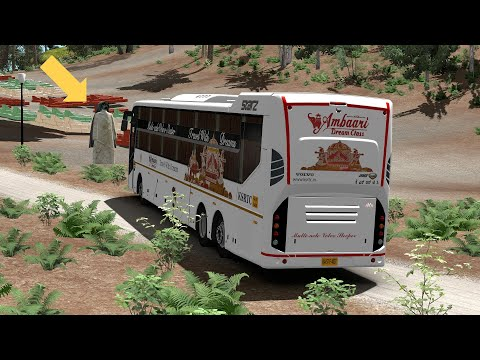 Karnataka KSRTC Bus Stopped By GHOST And Still Driver Manages To Escape From Spot & Saves Passangers