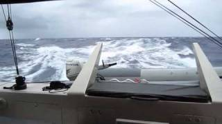 Sailing Downwind in a Gunboat
