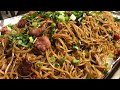 Lao Food:  How I Make Stir Fry Rice Noodles