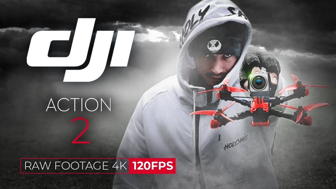 Download DJI OSMO ACTION 2 RAW FOOTAGE 4K 120fps