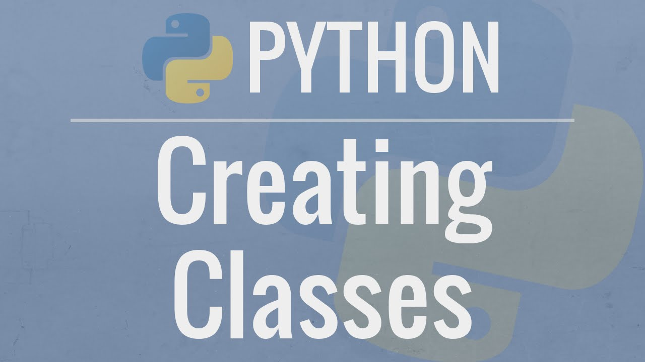 Python OOP Tutorial : Classes and Instances