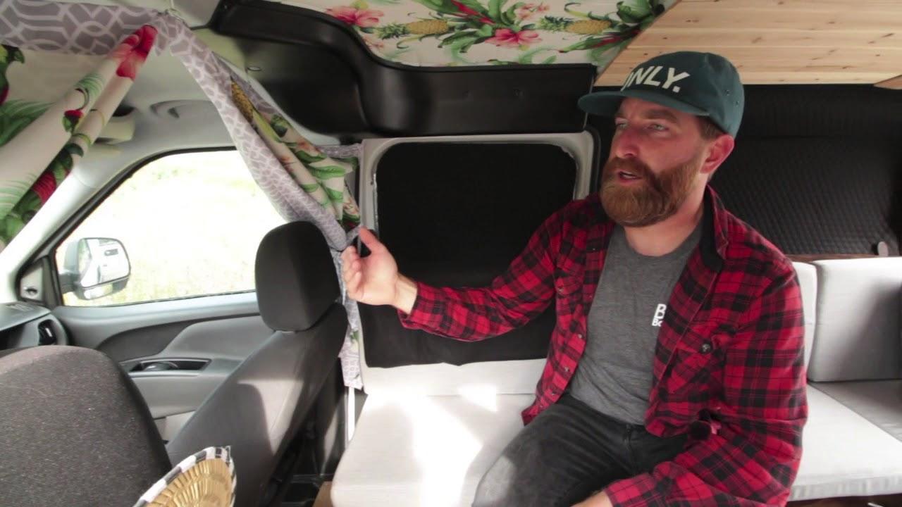 Custom Camper Van Walkthrough - 2016 Ram Promaster City