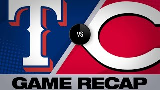 Winker's 5-RBI game leads Reds past Rangers | Rangers-Reds Game Highlights 6/16/19