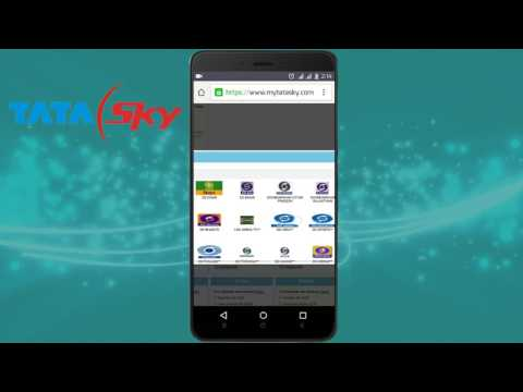 How to Change or Modify Tata Sky Pack
