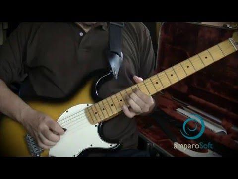 Blues guitar lead concepts - Full solo playthrough - 30 blues guitar harmonic concepts in one solo