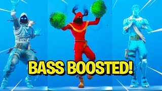 Fortnite New Skins & Emotes (Bass Boosted)