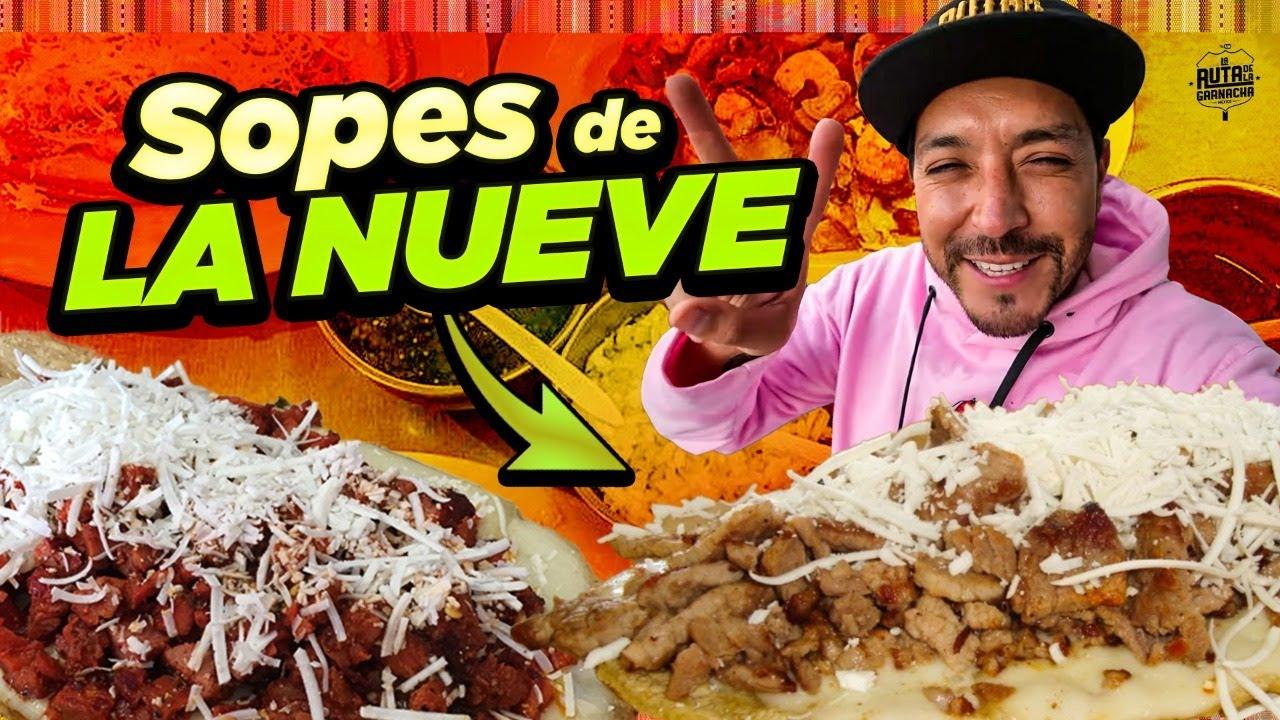 Invite a comer a una conductora a los SOPES DE LA 9