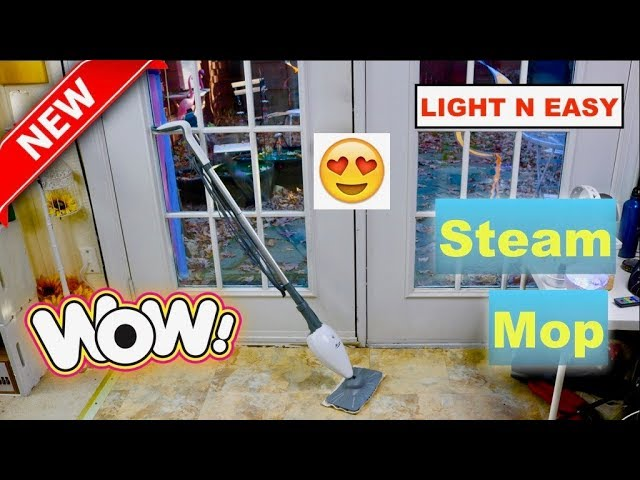 Light N Easy Steam Mop Review Youtube