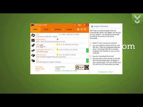 3DP Chip - Always get the latest device drivers - Download Video Previews
