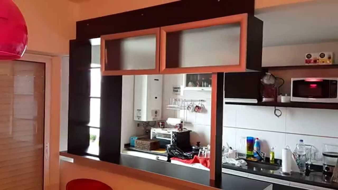 Divisor cocinas integradas desayunador fabrica en for Cocinas con desayunador
