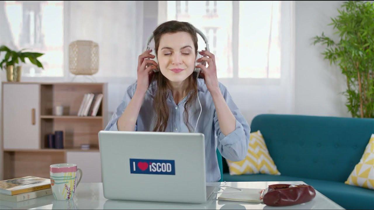 """Musique pub Iscod """"l'alternance nouvelle génération""""  juillet 2021"""