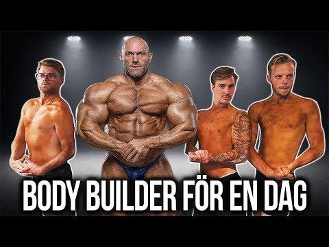 LEVER SOM BODY BUILDER FÖR EN DAG.