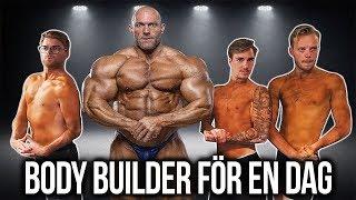 LEVER SOM EN BODY BUILDER FÖR EN DAG. thumbnail
