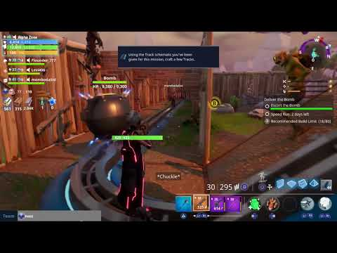 Rifty Business (Deliver The Bomb) | Fortnite Save The World