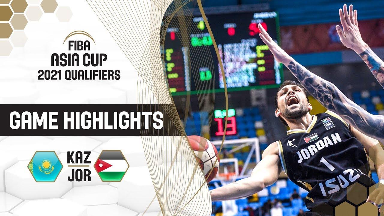 Kazakhstan v Jordan - Highlights - FIBA Asia Cup 2021