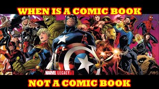 MARVEL COMICS LEGACY #1  MARVEL COMIC BOOKS ARE BACK TO BASICS & ARE NOT CHANGING FOR ANYONE