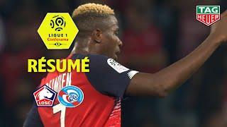 LOSC - RC Strasbourg Alsace ( 2-0 ) - Résumé - (LOSC - RCSA) / 2019-20