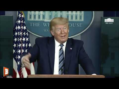Reporters Without Masks Grill Trump About Not Wearing A Mask