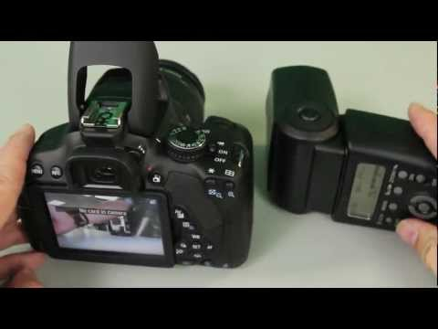 How To Use Canon Off Camera Wireless TTL Flash System