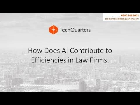 Episode 2: How Does AI Contribute to Efficiencies in Law Firms