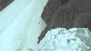 Gasherbrum: samuele sentieri test per discesca con gli sci