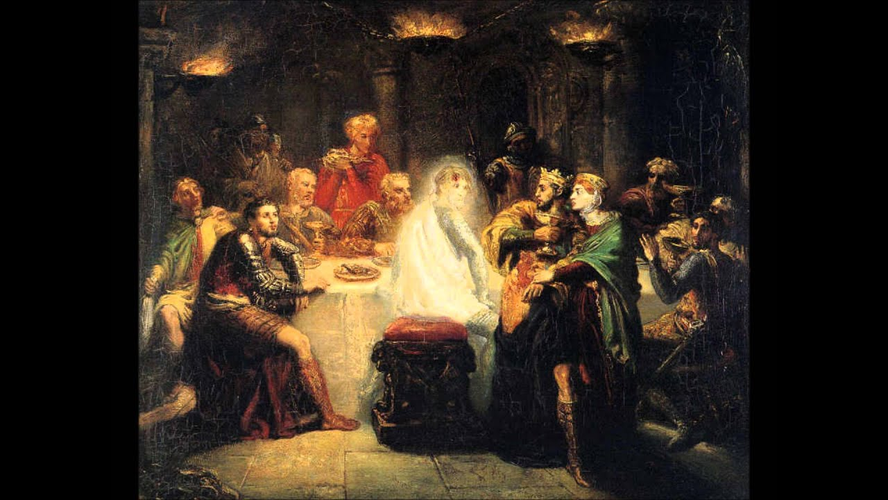 an analysis of the banquet scene in macbeth a play by william shakespeare Next: macbeth, act 3, scene 5 _____ explanatory notes for act 3, scene 4 from macbeth ed thomas marc parrott new york: american book co (line numbers have been altered) _____ from every point of view this superb scene is one of the most remarkable in the whole play the poetry rises to the highest pitch, and the theatrical.