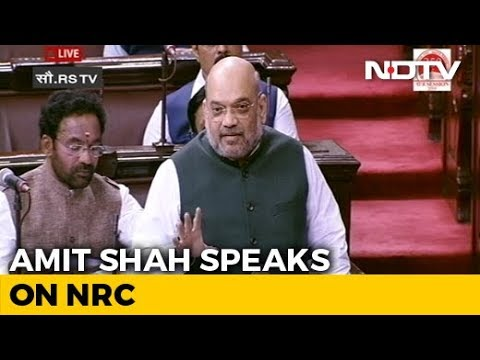 NRC Will Be Carried Out Nationwide, No One Should Be Worried: Amit Shah