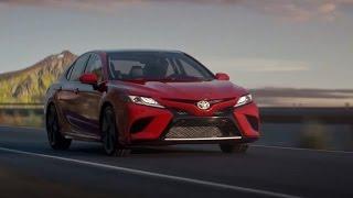 Toyota Camry 2018 - Обзор - ATDNews #10(Подробности о Toyota Camry 2018 модельного года! Сразу 3 новых мотора, новая платформа c иной задней подвеской и..., 2017-01-09T23:06:40.000Z)
