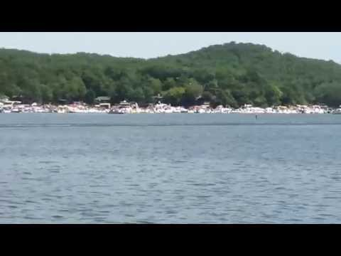 Spirit of Qatar 244 MPH run at Lake of the Ozarks Shootout 2014
