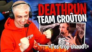 Michou trop fort ?! Course Deathrun Halloween entre la Team Croûton sur Fortnite Créatif ! #2