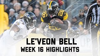 Le'Veon Bell Totals Over 130 Yards of Offense! | Ravens vs. Steelers | NFL Week 16 Player Highlights
