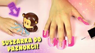 Suszarka do paznokci + nakładki!