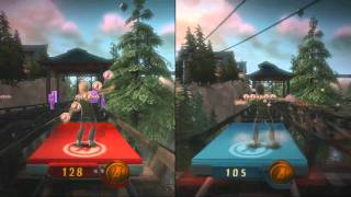 Kinect 5 - Kinect Adventures - Reflex Ridge - 2 Players (HD)
