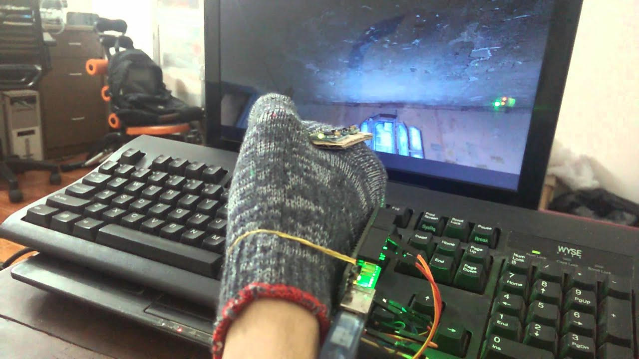 Kid toy joystick test arduino mpu youtube