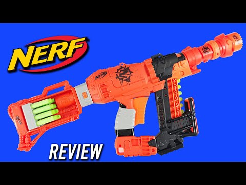 Nerf Zombie Strike Zoom And Doom |  Survival System Attachment Kit