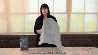 Mattress Waterproof Pad - Reusable - Isg12434