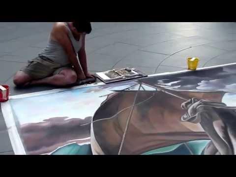 Amazing Street Painter Artist in Sydney Australia