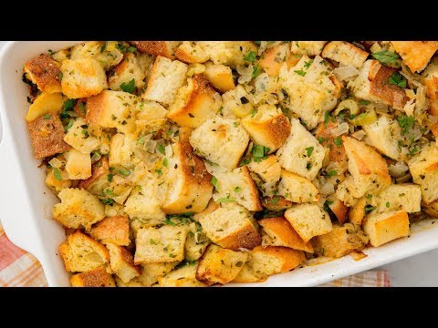 How To Make The Best Thanksgiving Stuffing | Delish Insanely Easy