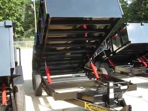 Kaufman Trailers Equipment, Gooseneck, Car, & Utility Trailers  Kaufman Dump Trailers