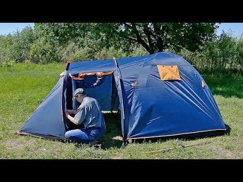 Как быстро собрать палатку LANYU 1636