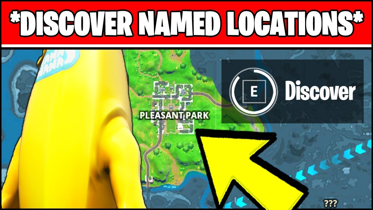 Discover Named Locations New World Missions Fortnite Chapter 2 Season 1 Challenges