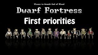 Let's Learn: Dwarf Fortress (03) - First things first!