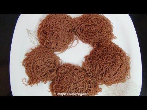 how to make string hoppers with rice flour