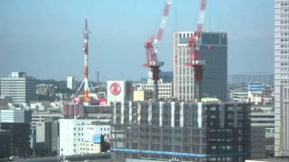 横浜三井ビルディング_建設経過(2010年09月22日)